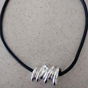 Israel Sterling Silver Slide Necklace